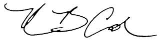 Kevin Cook's Signature
