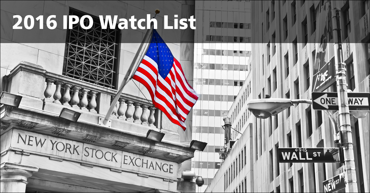 IPO Watch List